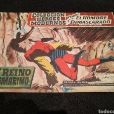 Tebeos: COLECCIÓN HÉROES MODERNOS, EL HOMBRE ENMASCARADO.N°3, 1959, DOLAR. Lote 199048943