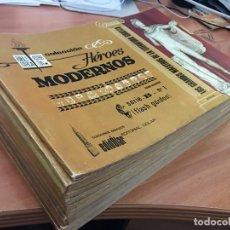 Tebeos: COLECCION HEROES MODERNOS SERIE A COMPLETA 1 AL 15 (ED. DOLAR) MUY BUEN ESTADO (COIB73). Lote 199126838