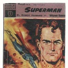 Tebeos: SUPERMAN 2, 1960, DOLAR, BUEN ESTADO. COLECCIÓN A.T.. Lote 199361601