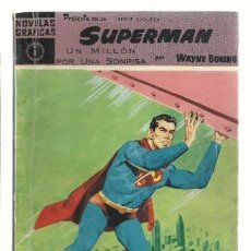 Tebeos: SUPERMAN 4, 1960, DOLAR, BUEN ESTADO. COLECCIÓN A.T.. Lote 199361815