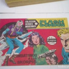 Tebeos: FLASH GORDON - COLECCION HEROES MODERNOS SERIE B - DOLAR - NUMEROS 1 AL 49 - BUEN ESTADO - GORBAUD. Lote 204404227