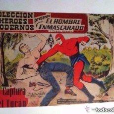 Tebeos: HOMBRE ENMASCARADO - 30 EJE.DE 1959-FALTAN Nº7-9-10-13-24-26-28-35-36-40 PARA COMPLETAR -COL. Lote 204640351