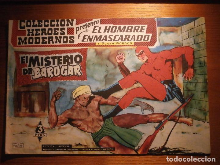 COMIC, EL HOMBRE ENMASCARADO, COLECCION HEROES MODERNOS, EL MISTERIO DE BAROGAR, Nº 14, ORIGINAL (Tebeos y Comics - Dólar)