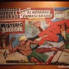 Tebeos: COMIC, EL HOMBRE ENMASCARADO, COLECCION HEROES MODERNOS, EL MISTERIO DE BAROGAR, Nº 14, ORIGINAL. Lote 204795095