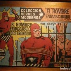 Tebeos: COMIC, EL HOMBRE ENMASCARADO, COLECCION HEROES MODERNOS - DESTRONADO - Nº 29, ORIGINAL. Lote 204795578