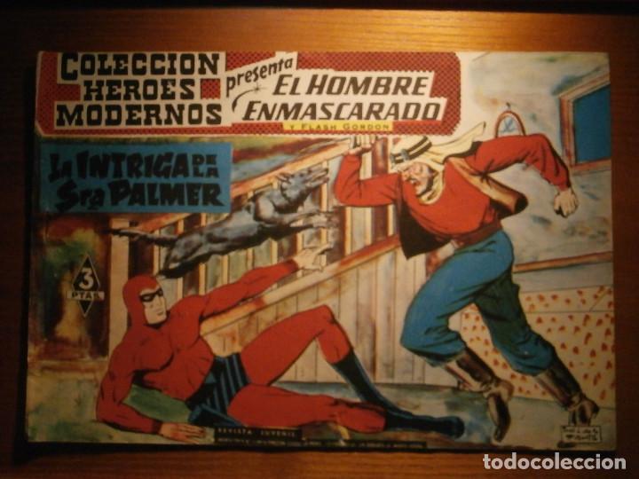 COMIC, EL HOMBRE ENMASCARADO, COLECCION HEROES MODERNOS, LA INTRIGA DE LA SRA PALMER, Nº 15 ORIGINAL (Tebeos y Comics - Dólar)