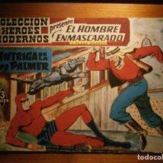 Tebeos: COMIC, EL HOMBRE ENMASCARADO, COLECCION HEROES MODERNOS, LA INTRIGA DE LA SRA PALMER, Nº 15 ORIGINAL. Lote 204796211