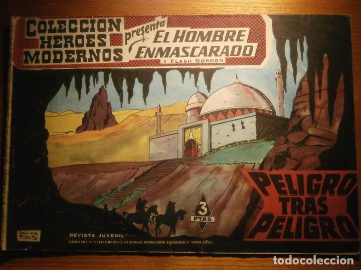 COMIC, EL HOMBRE ENMASCARADO, COLECCION HEROES MODERNOS - PELIGRO TRAS PELIGRO - Nº 31 ORIGINAL (Tebeos y Comics - Dólar)