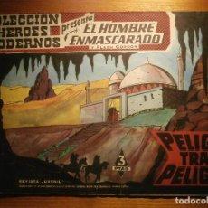 Tebeos: COMIC, EL HOMBRE ENMASCARADO, COLECCION HEROES MODERNOS - PELIGRO TRAS PELIGRO - Nº 31 ORIGINAL. Lote 204797176