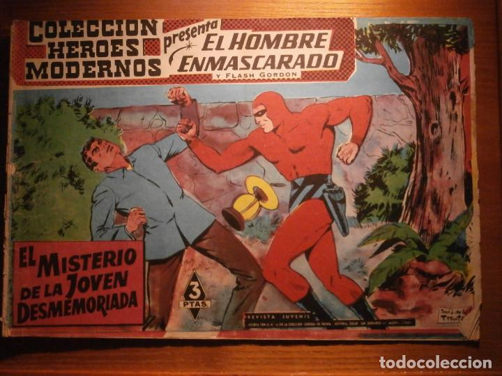 COMIC, EL HOMBRE ENMASCARADO, COLECCION HEROES MODERNOS, EL MISTERIO DE LA JOVEN DESMEMORIADA, Nº 22 (Tebeos y Comics - Dólar)