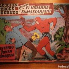 Tebeos: COMIC, EL HOMBRE ENMASCARADO, COLECCION HEROES MODERNOS, EL MISTERIO DE LA JOVEN DESMEMORIADA, Nº 22. Lote 204799962