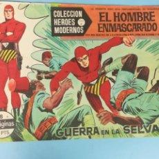 Tebeos: EL HOMBRE ENMASCARADO. Nº 8. GUERRA EN LA SELVA. COLECCIÓN HÉROES MODERNOS.. Lote 205133268