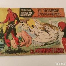 Tebeos: COLECCIÓN HÉROES MODERNOS, SERIE A/ EL HOMBRE ENMASCARADO, Nº 1 /VER. Lote 205530491