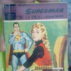Tebeos: SUPERMAN LORI LA SIRENA NOVELAS GRAFICAS ED DOLAR Nº 13. Lote 205845602