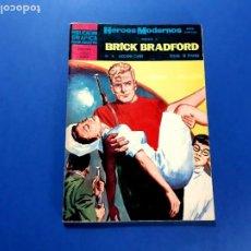 Tebeos: BRICK BRADFORD (HÉROES MODERNOS) Nº 8 -EXCELENTE ESTADO. Lote 206215375