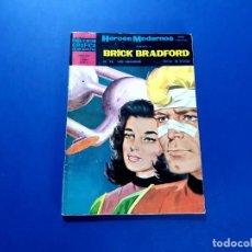Tebeos: BRICK BRADFORD (HÉROES MODERNOS) Nº 16 -EXCELENTE ESTADO. Lote 206215782
