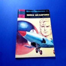 Tebeos: BRICK BRADFORD (HÉROES MODERNOS) Nº 6 EXCELENTE ESTADO. Lote 206216177