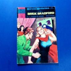 Tebeos: BRICK BRADFORD (HÉROES MODERNOS) Nº 7 EXCELENTE ESTADO. Lote 206216478