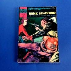 Tebeos: BRICK BRADFORD (HÉROES MODERNOS) Nº 6 EXCELENTE ESTADO. Lote 206219598