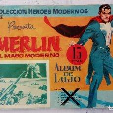 BDs: MERLIN EL MAGO MODERNO ALBUM DE LUJO Nº 1. Lote 209626243