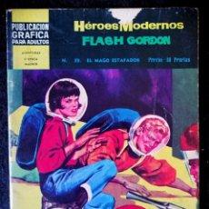 Tebeos: HEROES MODERNOS - FLASH GORDON Nº 39 - DOLAR 1966 - II ÉPOCA. Lote 210045325