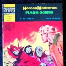 Tebeos: HEROES MODERNOS - FLASH GORDON Nº 42 - DOLAR 1966 - II ÉPOCA. Lote 210046050