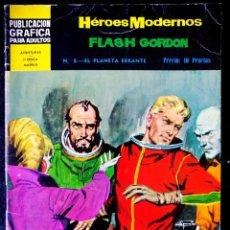 Tebeos: HEROES MODERNOS - FLASH GORDON Nº 8 - DOLAR 1966 - II ÉPOCA. Lote 210046273