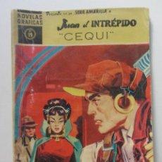 Tebeos: SERIE AMARILLA N-19 JUAN EL INTREPIDO, DOLAR AÑO 1959 CX60. Lote 210331026