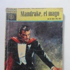 Tebeos: MANDRAKE, EL MAGO SERIE AMARILLA- 12 · 4-VIII-1960 1960, DOLAR CX60. Lote 210331137