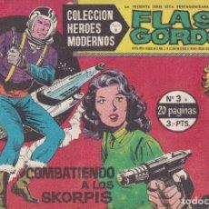 Tebeos: COLECCION HEROES MODERNOS: SERIE B. FLASH GORDON Nº 3, COMBATIENDO A LOS SKORPIS. Lote 210717039