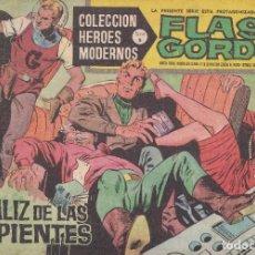 Tebeos: COLECCION HEROES MODERNOS: SERIE B. FLASH GORDON Nº 7, EL CALIZ DE LAS SERPIENTES. Lote 210717794