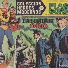 Tebeos: COLECCION HEROES MODERNOS: SERIE B. FLASH GORDON Nº 15, LA BOMBA DE ORO. Lote 210719926