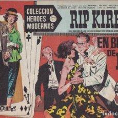 Tebeos: COLECCION HEROES MODERNOS: SERIE C. RIP KIRBY. Nº 15, EN BUSCA DE R.K.. Lote 211552691