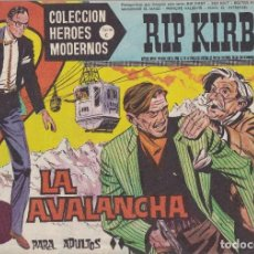 Tebeos: COLECCION HEROES MODERNOS: SERIE C. RIP KIRBY. Nº 16, LA AVALANCHA.. Lote 211552877