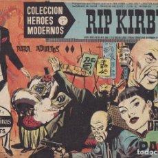 Tebeos: COLECCION HEROES MODERNOS: SERIE C. RIP KIRBY. Nº 17, EL DRAGON DE PAPEL.. Lote 211552996