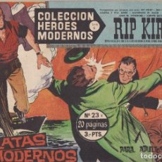 Tebeos: COLECCION HEROES MODERNOS: SERIE C. RIP KIRBY. Nº 23, PIRATAS MODERNOS.. Lote 211553224