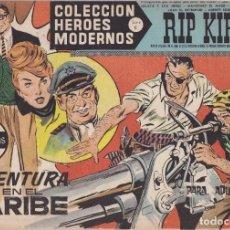 Tebeos: COLECCION HEROES MODERNOS: SERIE C. RIP KIRBY. Nº 24, AVENTURA EN EL CARIBE.. Lote 211553354