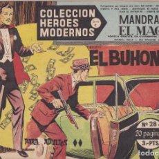 Tebeos: COLECCION HEROES MODERNOS: SERIE C. MANDRAKE EL MAGO. Nº 28, EL BUHONERO.. Lote 211554100