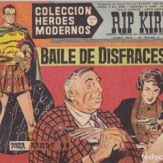 Tebeos: COLECCION HEROES MODERNOS: SERIE C. RIP KIRBY. Nº 34, BAILE DE DISFRACES.. Lote 211554721