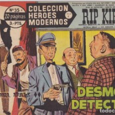 Tebeos: COLECCION HEROES MODERNOS: SERIE C. RIP KIRBY. Nº 35, DESMOND DETECTIVE.. Lote 211554881