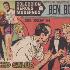 Tebeos: COLECCION HEROES MODERNOS: SERIE C. BEN BOLT. Nº 36, RANCHO SALUD.. Lote 211555166