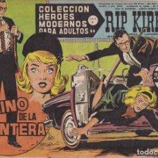 Tebeos: COLECCION HEROES MODERNOS: SERIE C. RIP KIRBY. Nº 47, CAMINO DE LA FRONTERA.. Lote 211555662