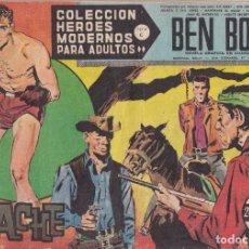 Tebeos: COLECCION HEROES MODERNOS: SERIE C. BEN BOLT. Nº 48, EL APACHE.. Lote 211555856