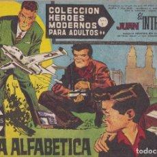 Tebeos: COLECCION HEROES MODERNOS: SERIE C. JUAN EL INTREPIDO. Nº 58, SOPA ALFABETICA.. Lote 211556489