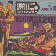 Tebeos: COLECCION HEROES MODERNOS: SERIE C. JUAN EL INTREPIDO. Nº 59, VISITANTES OPORTUNOS.. Lote 211556699