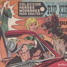 Tebeos: COLECCION HEROES MODERNOS: SERIE C. RIP KIRBY. Nº 61, EN BUSCA DE UN TESORO.. Lote 211556929