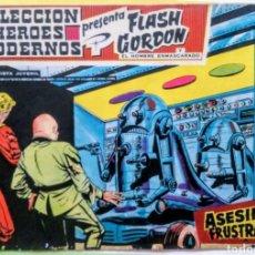 Tebeos: FLASH GORDON Y EL HOMBRE ENMASCARADO HEROES MODERNOS Nº 16 ASESINATO FRUSTRADO ED DOLAR 1958. Lote 211662486