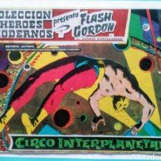 Tebeos: FLASH GORDON Y EL HOMBRE ENMASCARADO HEROES MODERNOS Nº 27 CIRCO INTERPLANETARIO ED DOLAR 1958. Lote 211662576