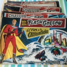 Tebeos: LOTE 60 NUMEROS FLASH GORDON SERIE 0 COLECCION HEROES MODERNOS 1958 ED.DOLAR VER +. Lote 211775485