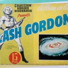 Tebeos: FLASH GORDON HEROES MODERNOS ALBUM DE LUJO Nº 11. Lote 211824337